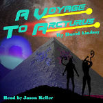 Cover image for Spoken Realms audiobook of A Voyage to Arcturus