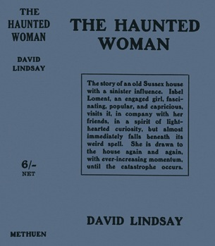 The Haunted Woman dustjacket from Facsimile Dust Jackets