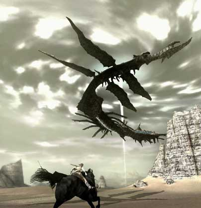 Still from Shadow of the Colossus