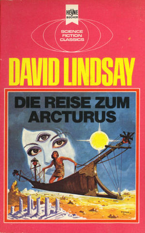 Cover to Heyne 1975 edition of A Voyage to Arcturus