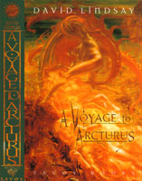 Cover to Savoy Books' edition of A Voyage to Arcturus